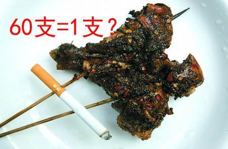 烤鸡腿比香烟危害更大? 专家表示被夸大了
