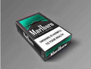 万宝路黑绿薄荷香烟价格一览 官网图片